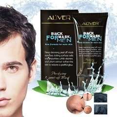 Peel off Mask for Men, Suction Black Head Deep Cleansing Anti Aging Whitening